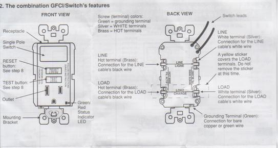 79873d1492823117 wiring leviton switch gfi outlet combo gfci switch wiring leviton switch gfi outlet combo doityourself com leviton gfci receptacle wiring diagram at creativeand.co