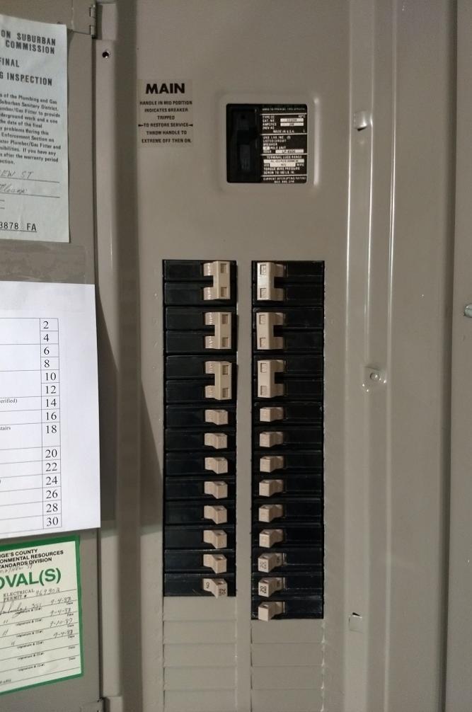 Identifying circuit breakers - DoItYourself.com Community Forums