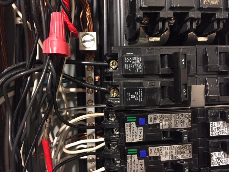 Installing Spd On An Afci 2 Pole Breaker