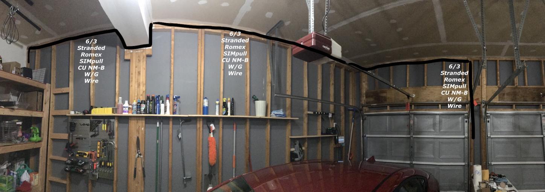 Wiring A Nema 14 50 For Ev Charging In Garage Doityourself Com Community Forums