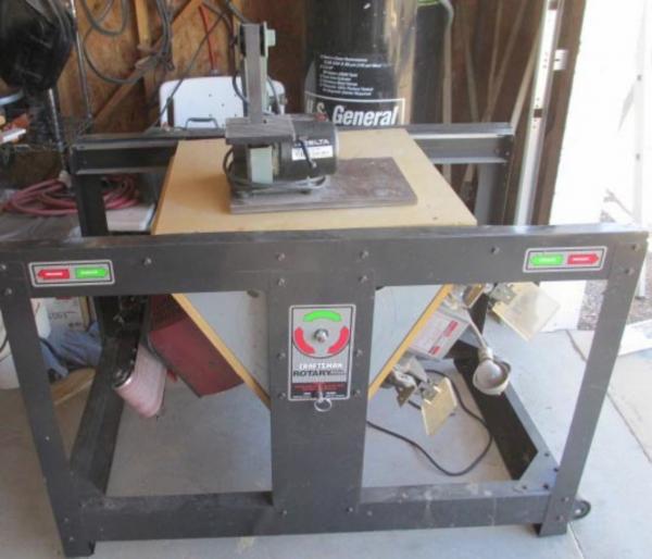 Craftsman Rotary Tool Stand Table Doityourself Com