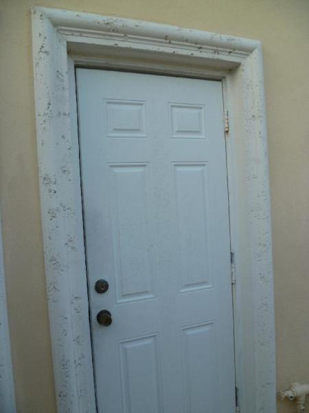 Exterior Door Trim Stucco - Interior Design