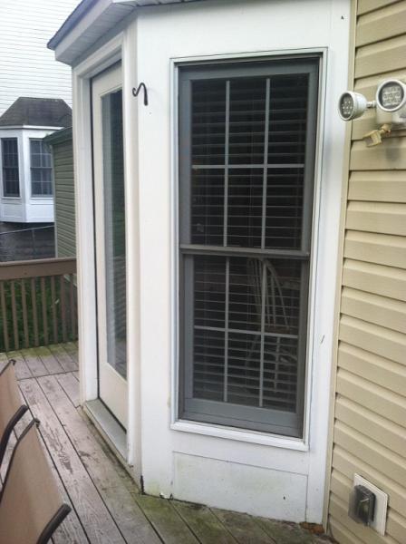 Rotting Wood Bay Window Door Area Doityourself Com