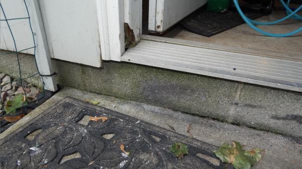 Garage Entrance Door Jamb Rot Repair Doityourself Com