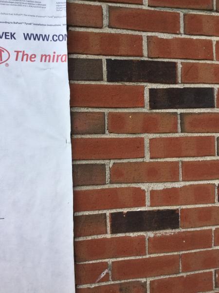 Brick Wall And Vinyl Siding Doityourself Com Community