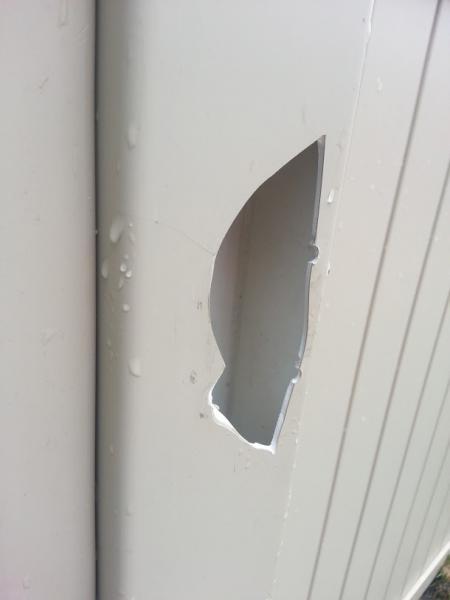 Plastic Vinyl Fence Repair Doityourself Com Community Forums