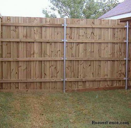 Installing New Stockade Fence Doityourself Com Community