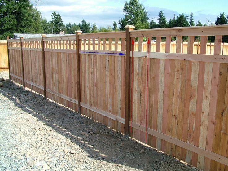 Wood Fence Construction Advice Doityourself Com