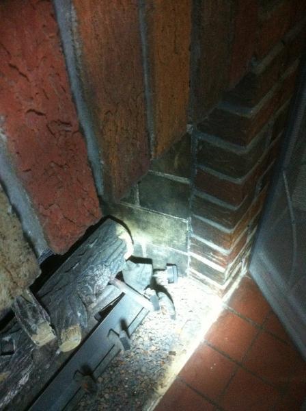 Any Reason To Not Install Fireplace Door No Lintel Bar