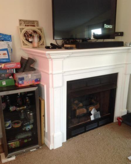 Removing Ventless Gas Fireplace And Mantel Doityourself