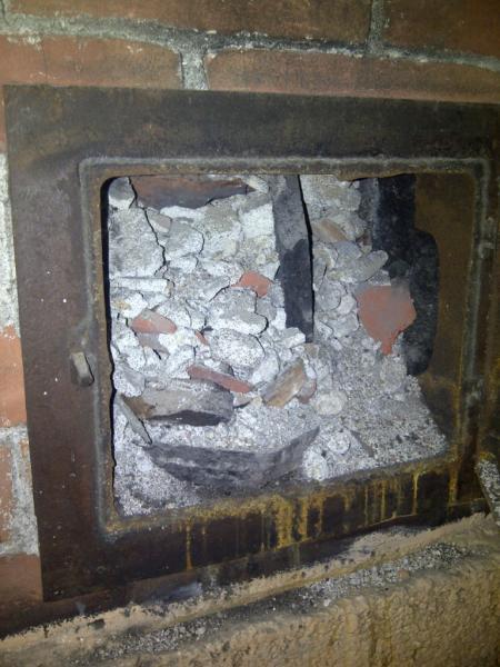 Removing Indoor Brick Chimney Three Stories Tall