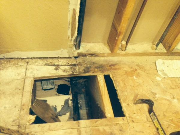 replacing rotted subfloor and sole plate in bathroom doityourself
