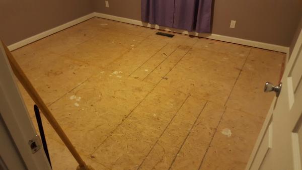 Name:  Bedroom 1 - Sub floor stains.jpg Views: 194 Size:  21.3 KB