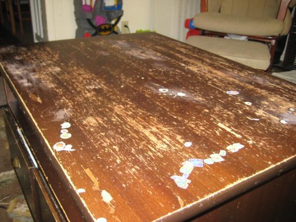 Refinishing tabletop of my coffee table DoItYourselfcom Community