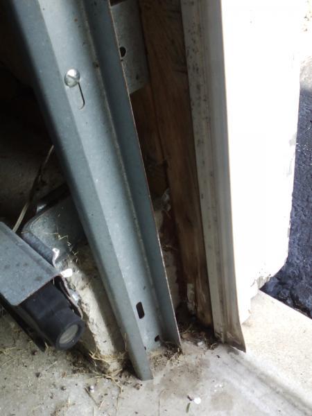 garage door jamb 3