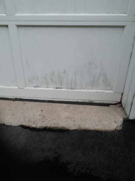 Water Damaged Garage Door Doityourself Com Community Forums