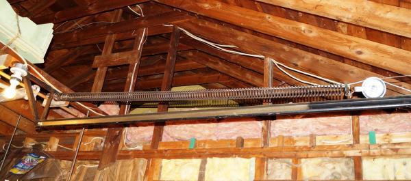 Replacing Old Garage Door Extension Springs Stretch