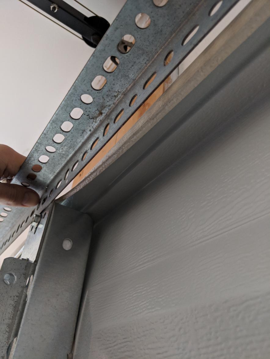 Clopay Door Panel Dovetails Can T Reinforce