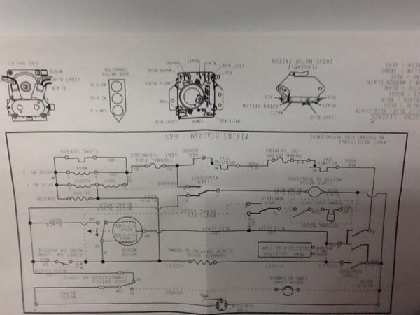 amana gas dryer wiring diagrams amana gas dryer won t stay running doityourself com community forums  amana gas dryer won t stay running