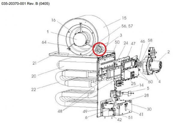 York Furnace - Fan Doesn U0026 39 T Spin On Heat