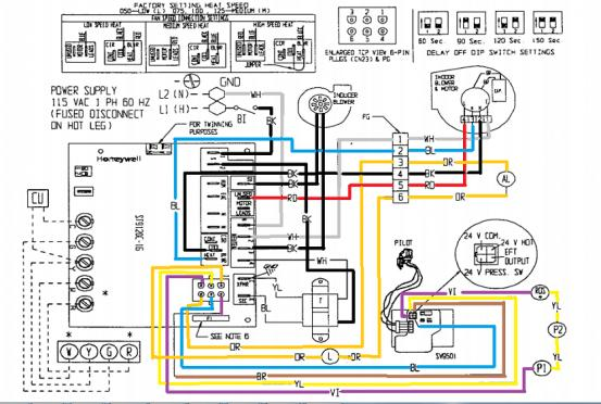 hot air oil furnace wiring diagrams fuel oil furnace wiring diagrams #1