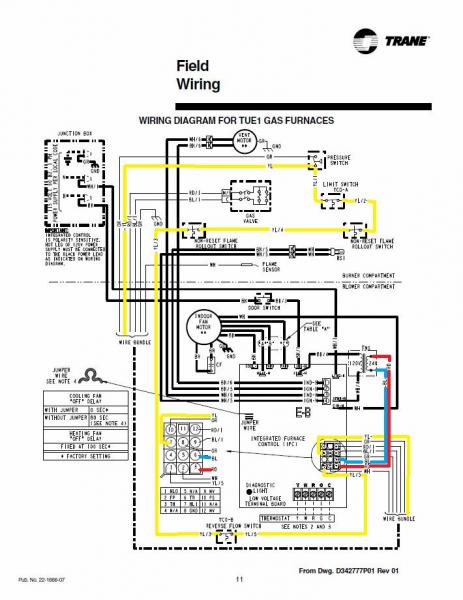 Wiring Diagrams For Hvac Motors : Trane xb not working at all doityourself community