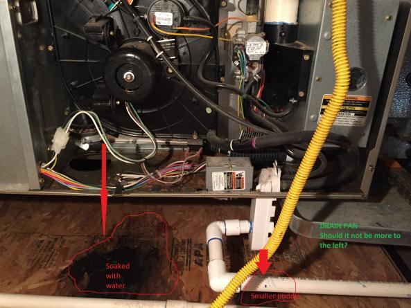 Outlets In Nj >> Blower water leak in attic furnace - DoItYourself.com ...