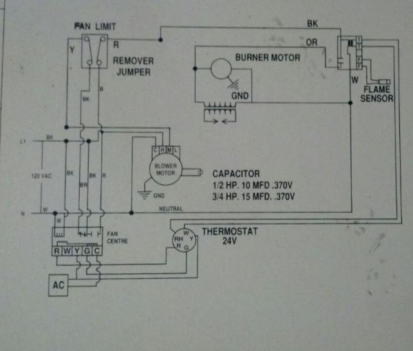 a new furnace motor wiring changing speed on direct drive blower - doityourself.com ... house furnace motor wiring diagram