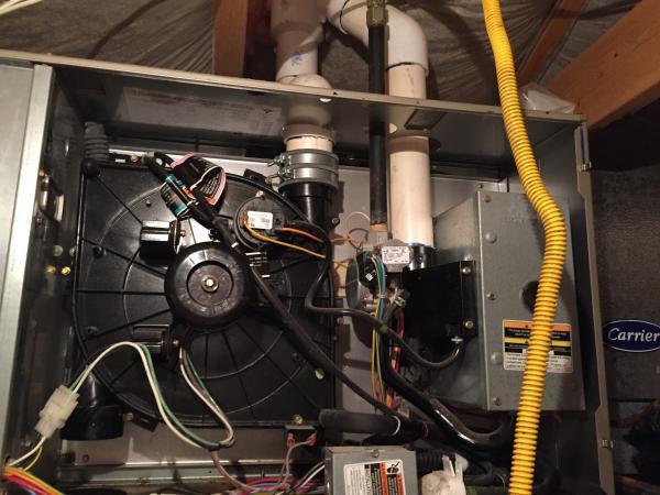 Blower Water Leak In Attic Furnace Doityourself Com