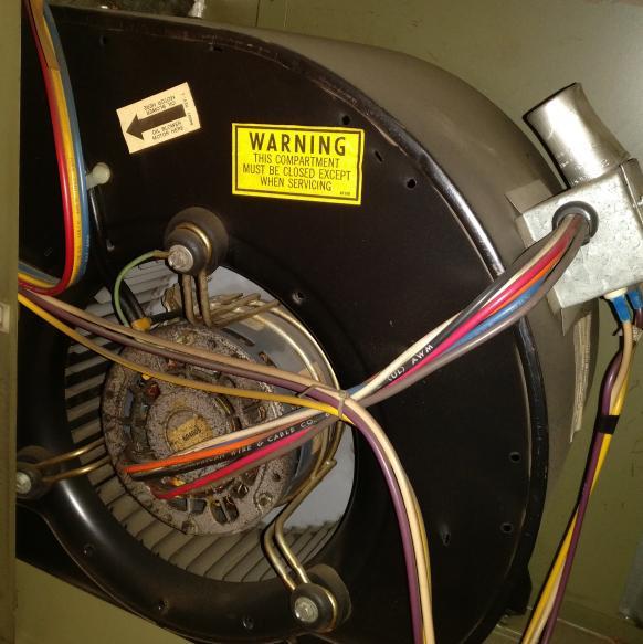 No heat from dayton 3e286 gas furnace for Lubricate furnace blower motor