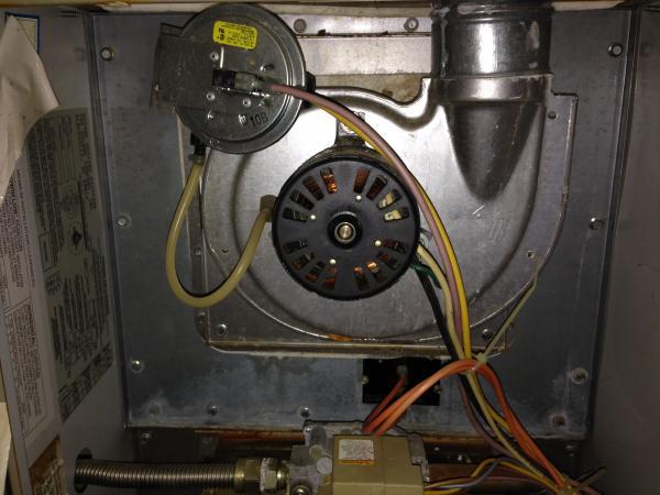 A c furnace fan will not stay on for Lubricate furnace blower motor