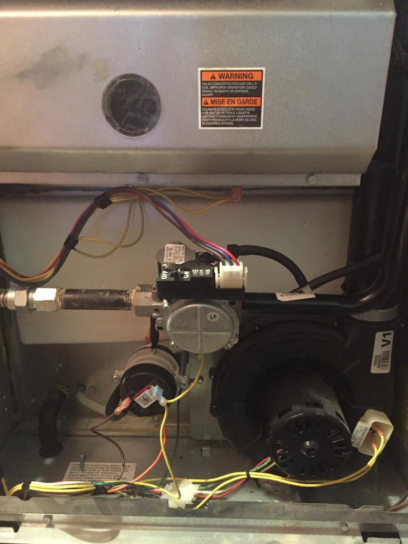 Trane Xl 90 Propane Furnace - Runs Once Then System Lockout