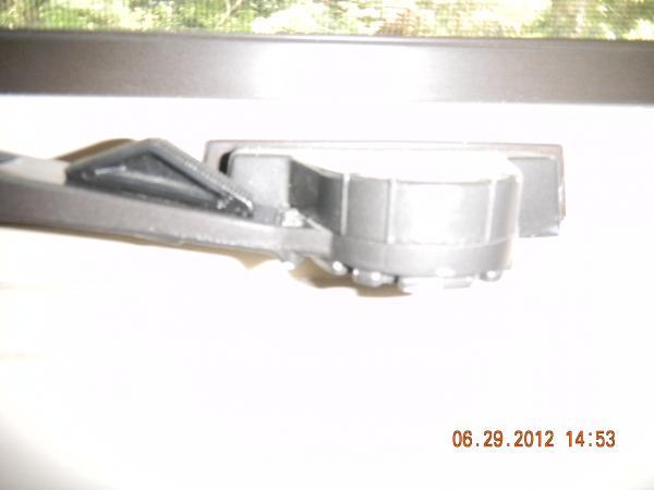 Caradco Awning Window Handle With Locking Mechanism Broken