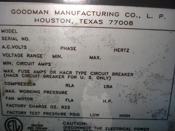 Goodman Heatpump T Stat Upgrade Manual Guide