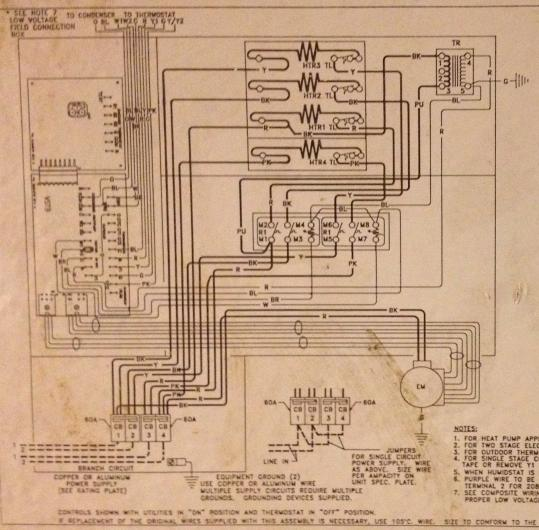 mars furnace blower motor wiring diagram house furnace motor wiring diagram heatpump won't start and blower fan won't stop ...