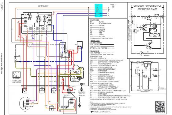 heat wiring diagram goodman wiring diagram thermostat wiring diagram and schematic goodman gms95 furnace thermostat wiring diagram