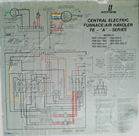 on 4 ton intertherm wiring diagram