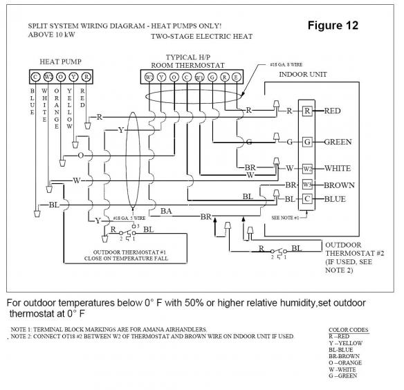 goodman outside thermostat question - doityourself.com ... goodman ac compressor wiring diagram