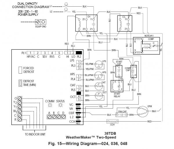 50918d1432338424 replacing two run capacitors single dual capacitor carrier 38tdb diagram replacing two run capacitors with a single dual capacitor hvac capacitor wiring diagram at reclaimingppi.co