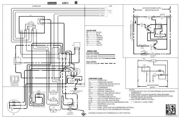 rheem heat pump low voltage wiring diagram – wirdig – readingrat,