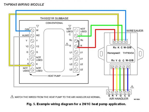 Honeywell Heat Pump Thermostat Wiring Diagram on ford fuel gauge wiring diagram