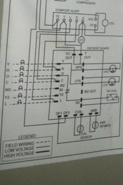 Heat Pump Wiring Diagram Schematic On York Heat Pump Electrical