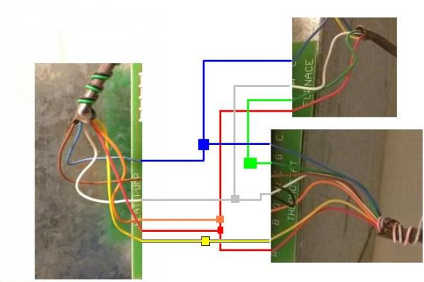 As Heat Pump Thermostat Wiring Doityourselfcom Community Forums