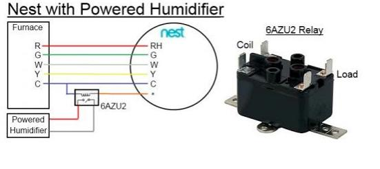 Nest 20 Aprilaire 800 Humidifier Wiring Operation