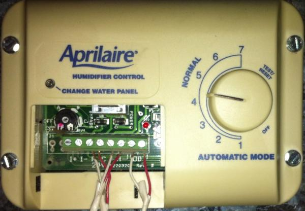 aprilaire 700 automatic vs manual