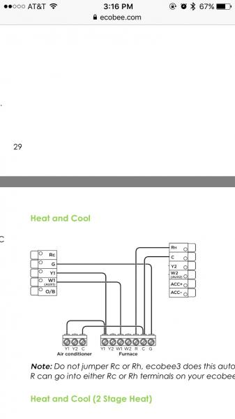 ecobee smart wiring diagram connect bypass humidifier to ecobee 3 thermostat ... ecobee aprilaire 600 wiring diagram #12