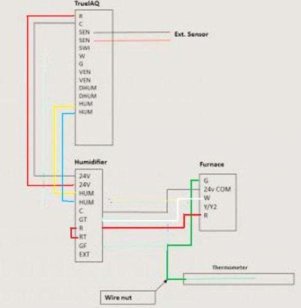 honeywell humidistat wiring diagram ewiring