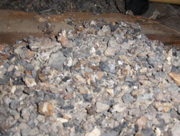 Granular minerals insulation community for Mineral insulation