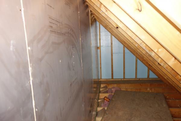 Closet Over Garage Insulation Question Doityourself Com