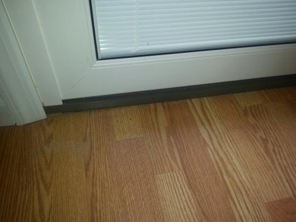 air leak under new glass sliders community forums